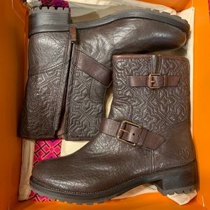 Coconut (Brown) Tory Burch Booties